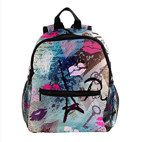 XiangHeFu Mochila escolar para niñas niño caminata al aire libre bolsa de...