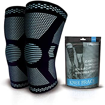 2-Pack Trace Kasa Knee Compression Sleeve