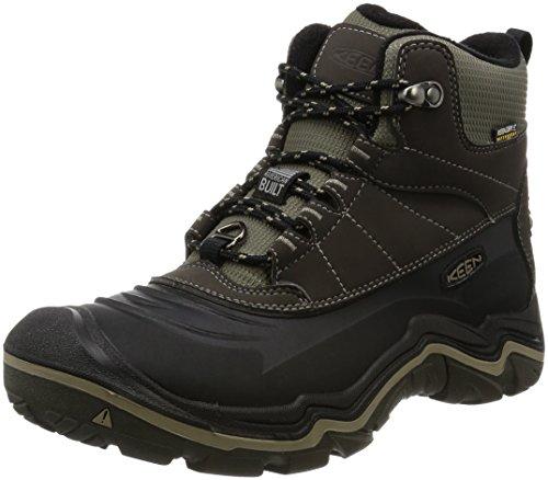 KEEN Men's Durand Polar Shell Shoe, Black Olive/Brindle, 11.5 M US