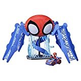 image of spidey playset the disney show for ages 3+and one of our picks of the must have toys 2021 and on the amazon christmas toy list 2021
