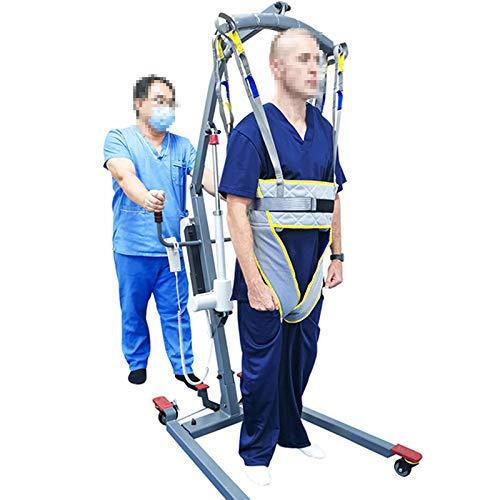 WLKQ Paciente Honda Levantador Grúa Paciente Cuerpo Completo Elevación Paciente Cabestrillo...