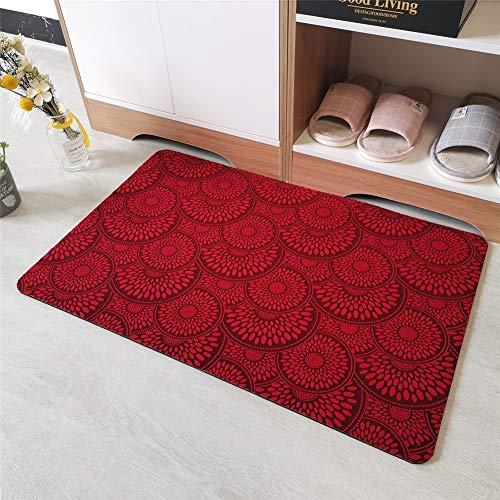 YZHY deurmat voor de deur, voor buiten, Welkom Mats, hoogte 45 cm x 70 cm
