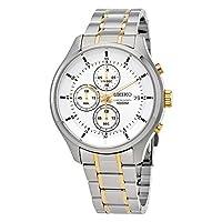 [セイコー]Seiko 腕時計 Two-tone Chronograh Men's Watch メンズ SKS541 [並行輸入品]