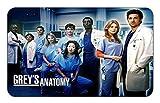 Grey's Anatomy TV Show Stylish Playmat Mousepad (24 x 14) Inches [PM] TV Greys Anatomy-40