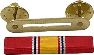 Official Ribbons for Medals-National Defense Service Ribbon & Ribbon Holder Bar