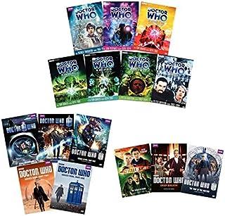 Ultimate Doctor Who 15-Volume DVD Collection: Series 6/Series 7/Series 9/Patrick Troughton/Jon Pertwee/Tom Baker/Peter Davison/David Tenant/Matt Smith/Peter Capaldi + More