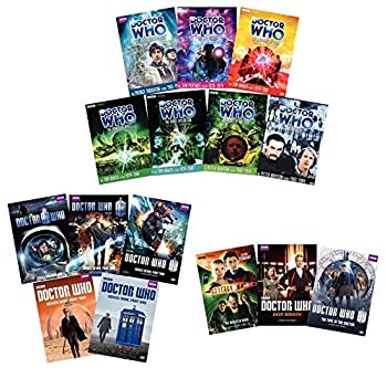 Ultimate Doctor Who 15-Volume DVD Collection  Series 6/Series 7/Series 9/Patrick Troughton/Jon Pertwee/Tom Baker/Peter Davison/David Tenant/Matt Smith/Peter Capaldi + More