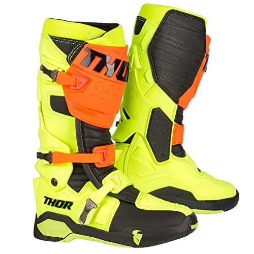 Thor Motocross-Stiefel Radial Gelb Gr. 50.5