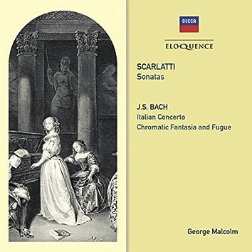 Scarlatti: Sonatas / Bach: Italian Concerto; Chromatic Fantasy & Fugue