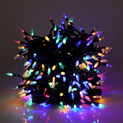 Mini Fairy Christmas String Light Indoor,300 LED Colored Bulbs 98.43ft Wire...