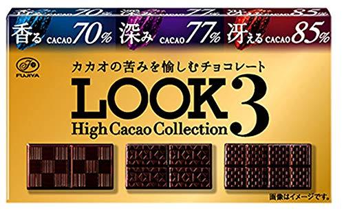 不二家 ルック3(ハイカカオコレクション) 45g×10箱