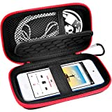 MP3 MP4 Player Cases Compatible with iPod Touch丨Mibao MP3 Player丨 Soulcker丨Sandisk MP3 Player丨G.G.Martinsen丨Grtdhx丨Sony NW-A45丨B Walkman with Earphones, USB Cable, Memory Cards -Red (Box Only)