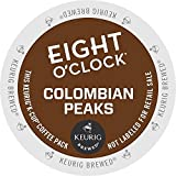 Keurig, Eight O'Clock Coffee, 100% Colombian / Colombian Peaks, K-Cup packs, 24 Count
