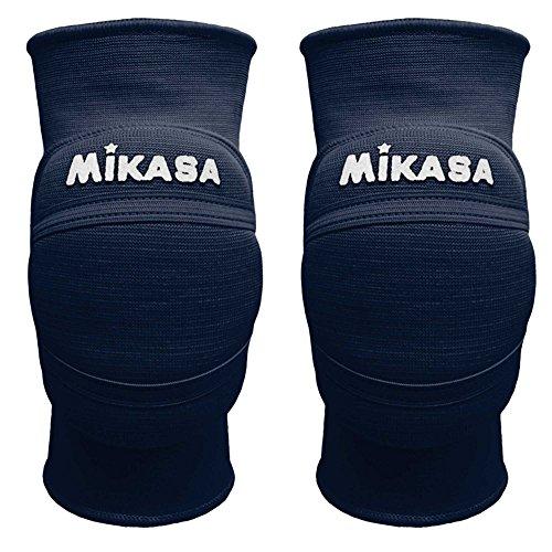 Mikasa MT8 Premier coppia ginocchiere volley pallavolo blu scuro (M)