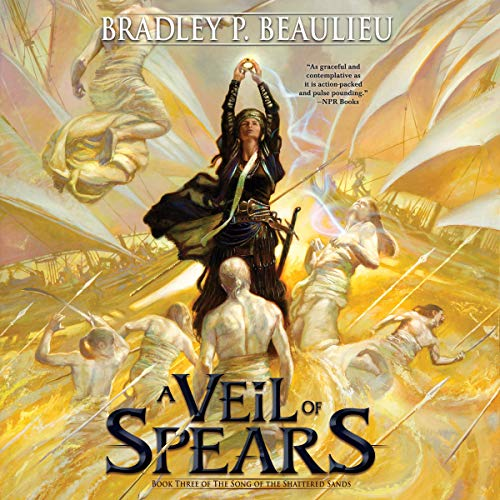 Couverture de A Veil of Spears