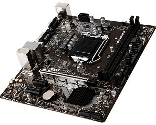 MSI - Scheda madre Intel 1151 H310 PRO-VD PLUS D4 M-ITX