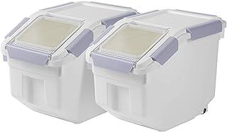 Ensembles de boîtes Boite De Conservation Alimentaire, Récipient De Stockage De Riz pour La Maison, Conteneur De Stockage ...