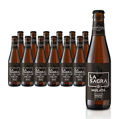 LA SAGRA Mulata Porter Ale. 5% Vol. Caja con 12 botellas de 330 ml