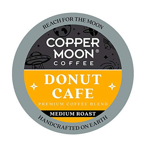 Copper Moon Coffee Single Serve Pods for Keurig 2.0 K-Cup Brewers, Donut Caf