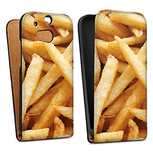DeinDesign HTC One M8s Tasche Hülle Flip Case Pommes Fritten Chips