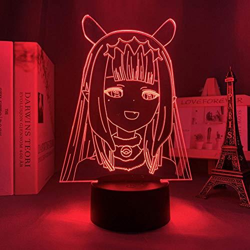 Anime Ninomae Ina Nis - Luz LED para decoración de habitaciones, para niños, regalo de cumpleaños, manga Ninomae Ina Nis 3D