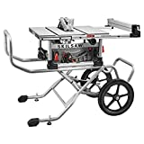 SKILSAW SPT99-11 10' Heavy Duty Worm Drive Table Saw with Stand,...