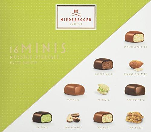 Niederegger Marzipan Minis nussige Vielfalt, 4er Pack (4 x 112 g)