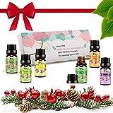 Ätherische Öle Set Aromatherapie Essential Oils für Diffuser Bio - 100% Reines Aroma Duftöle -...