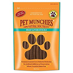 These 100% natural sticks of quality beef liver are perfect to break up for training and rewards. Great source of protein, vitamins, good fatty acids and many other minerals and nutrients. These scrumptious treats are wheat, gluten and cereal free....