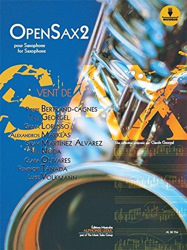 OpenSax Vol.2 (Boek/Downloads). Bladmuziek, Downloads voor Saxofoon