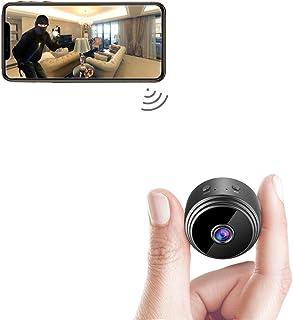 Spy Camera Wireless Hidden WiFi Camera AREBI HD 1080P Mini Camera Portable Home Security Cameras Covert Nanny Cam Small In...