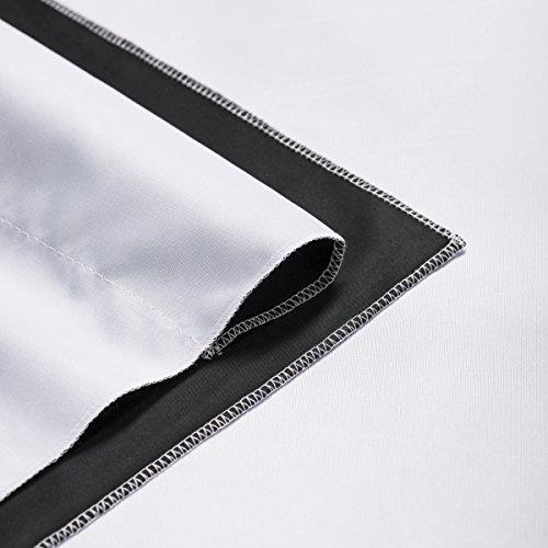walimex pro 20312 - Fondo fotográfico, Negro y Blanco