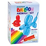 Bits and Pieces - DIY Balloon Animals Craft Kit - Pack of 50 Colorful Balloons, Durable Pump & Instructions