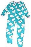 Carter's Child of Mine Made Little Girls' Toddler Microfleece Blanket Sleeper Blue (5T)