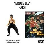 Bruce Lee - Der reißende Puma (Uncut - Limitiertes Mediabook - 2 Bonus-DVDs - Cover A) + Bruce Lee Actionfigur (ca. 20cm) [Alemania]