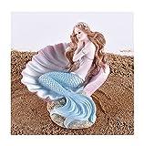JSZMD Regalo de la Muchacha del Tanque de Habitaciones Acuario de Peces de la Sirena decoración del Dormitorio de los niños (Color : D)