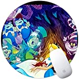 DISNEY COLLECTION Mouse Pad Round Mouse Pad Alice in Wonderland Defender