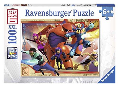 Ravensburger - 10562 - Puzzle Enfant Classique - Nouveaux Héros - 100 Pièces XXL