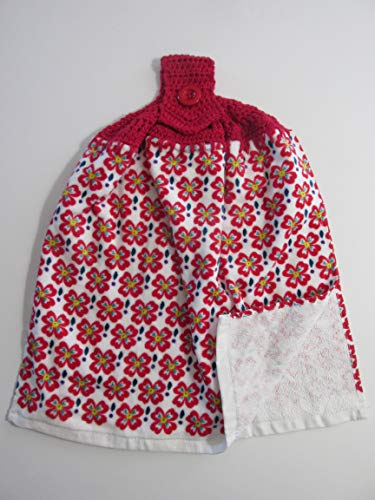 Top 10 Best Selling List for crochet pattern for hanging kitchen towels