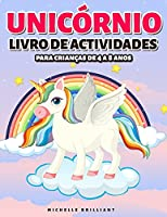 Unicórnio Livro de actividades: para Crianças de 4 a 8 anos - Unicorn Activity Book (Portuguese version)