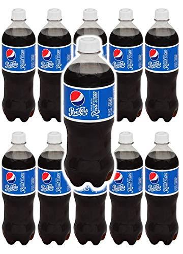 Pepsi Real Sugar 20 oz Soda Bottles (Pack of 10, Total of 200 FL OZ)