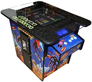 Video Game Machine Cocktail Arcade Machine 22-INCH Screen 135 LBS Special Edition with 60 Classic Games (60 Classic Games)