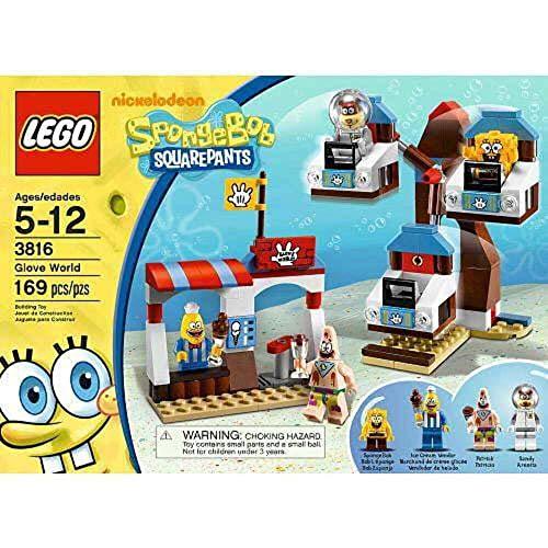 LEGO SpongeBob 3816 - Handschuhwelt