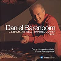 BACH:WELL-TEMPERED CLAVIER VOL.1 by BARENBOIM (2004-07-07)