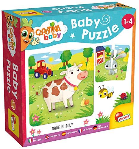 Lisciani Giochi Carotina Baby Puzzle La Fattoria