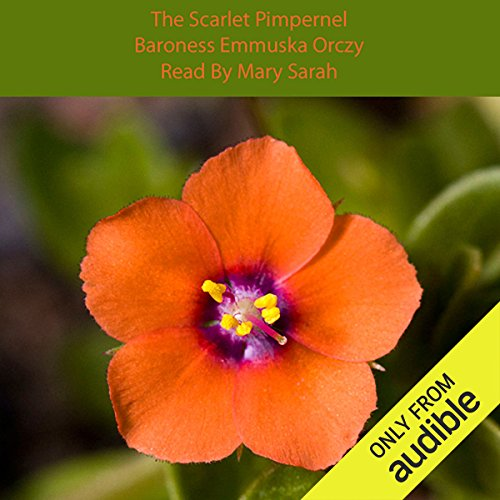 The Scarlet Pimpernel  By  cover art