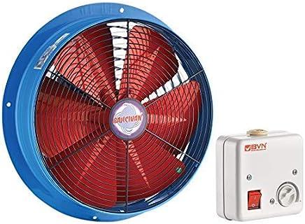 Saugventilator L/üfter 4M300-S-AC K/ühlzellen Verdampfer K/ühlaggregat 300mm 1700m/³//h inklusive Drehzahlregler
