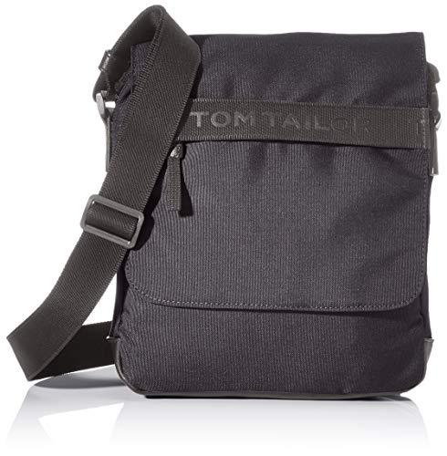 TOM TAILOR Herren Taschen & Geldbörsen Überschlagtasche Matteo schwarz/black,OneSize