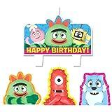 Mini Molded Cake Candles | Yo Gabba Gabba Collection | Birthday
