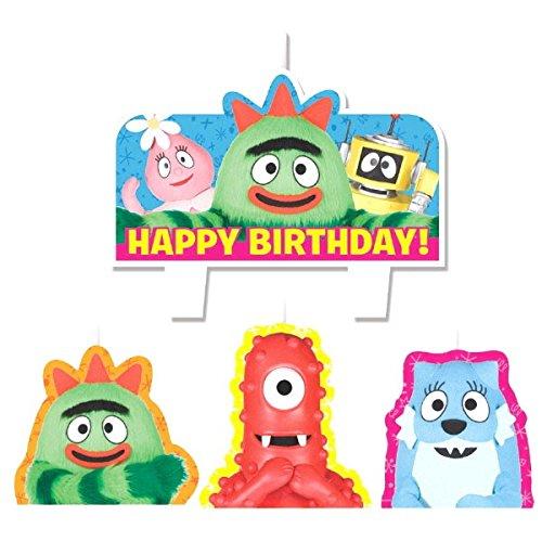 Mini Molded Cake Candles   Yo Gabba Gabba Collection   Birthday